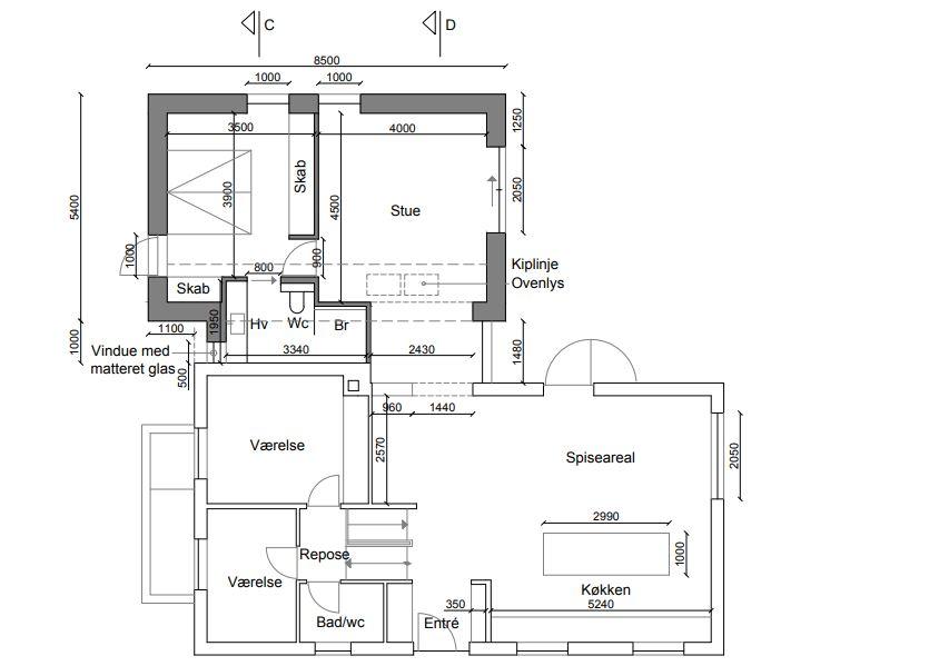 FørsTilbygning i ny stil - Arkinaut Arkitekt- og byggerådgivning ApS 5