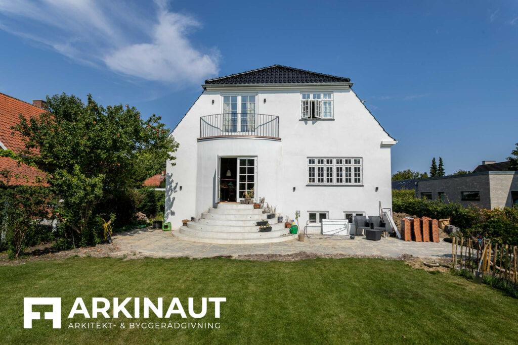 Første sal på bungalow med stilskifte - Arkinaut Arkitekt- og byggerådgivning ApS 4