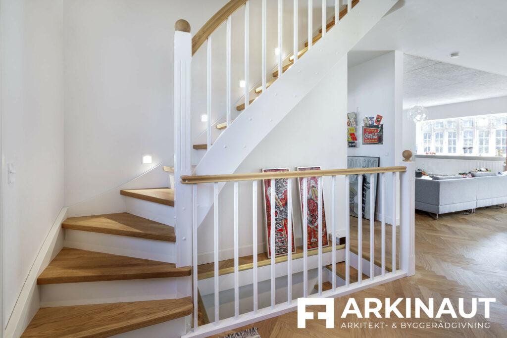 Første sal på bungalow med stilskifte - Arkinaut Arkitekt- og byggerådgivning ApS 5