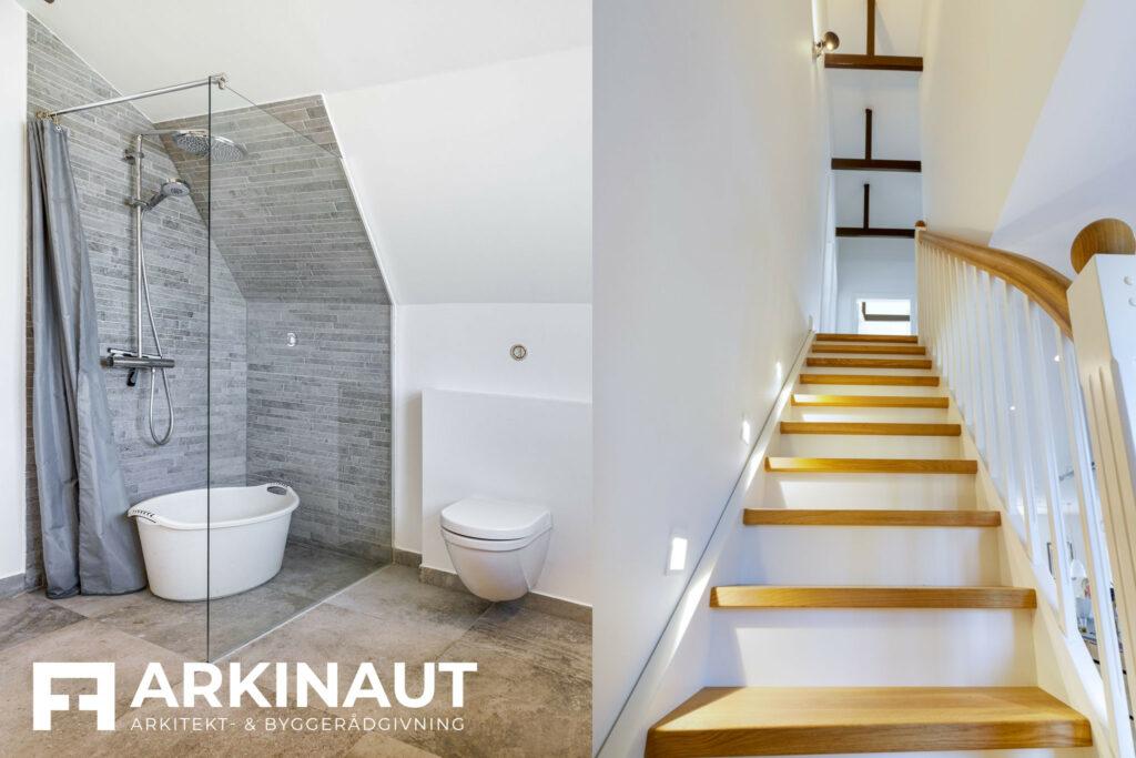 Første sal på bungalow med stilskifte - Arkinaut Arkitekt- og byggerådgivning ApS 6