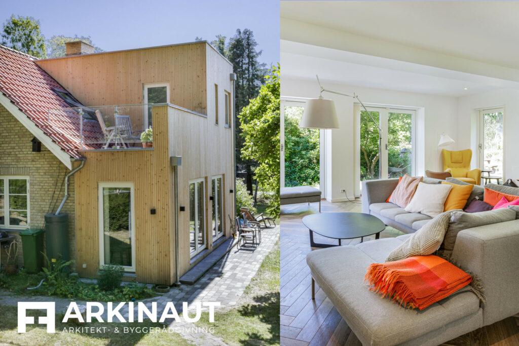 Tilbygning i to etager - Arkinaut Arkitekt- og byggerådgivning ApS 2