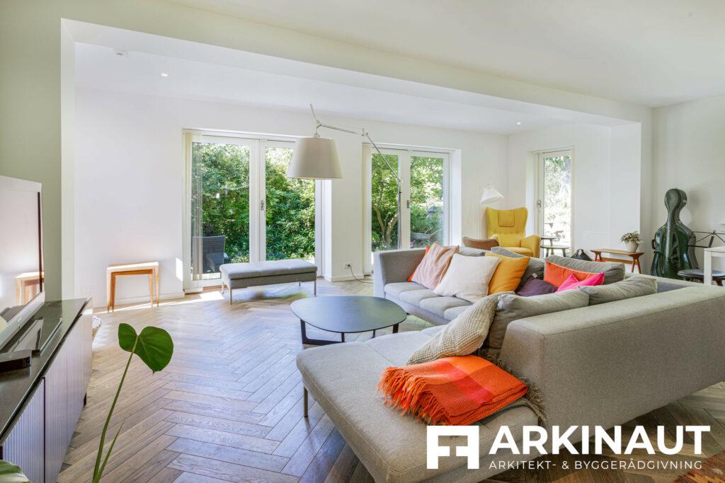 Tilbygning i to etager - Arkinaut Arkitekt- og byggerådgivning ApS 3