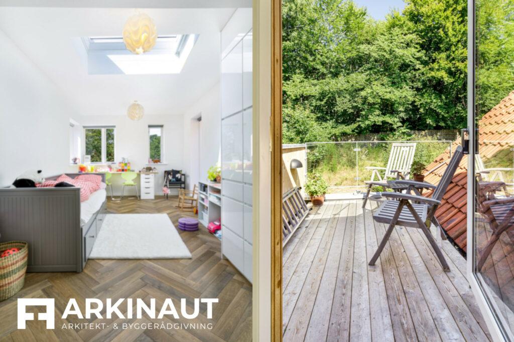 Tilbygning i to etager - Arkinaut Arkitekt- og byggerådgivning ApS 6